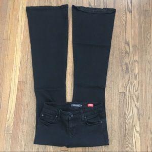 Level 99 [anthro] | Flare Black Dahlia Jeans Sz26